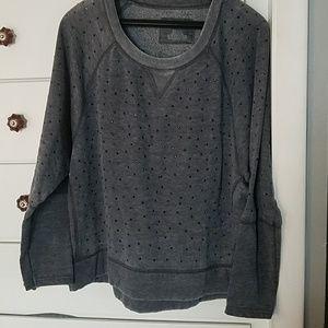 DKNY gray sweatshirt